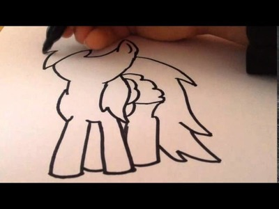 How To Draw Rainbow Dash