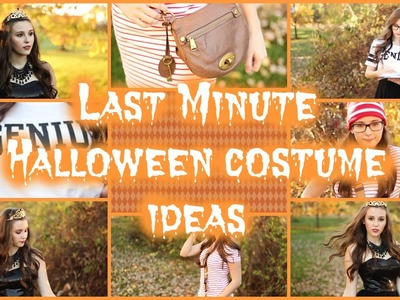 Last Minute DIY Halloween Costume Ideas!