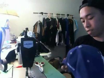 Livestream #12: Sewing SATURDAYS #8: Hat Customization PT 2.