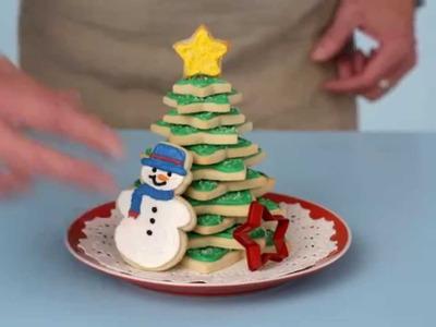 Make a Sweeeet Christmas Tree Centerpiece