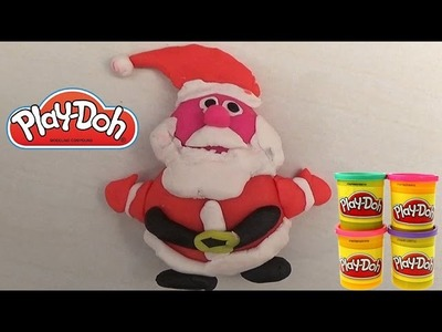 Play Doh Santa Claus - Toys for kids - Christmas Father Play Doh Tutorial