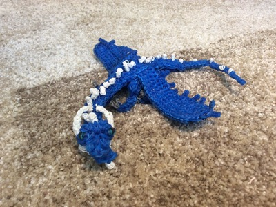 Rainbow Loom Adult Saphira from Eragon Preview