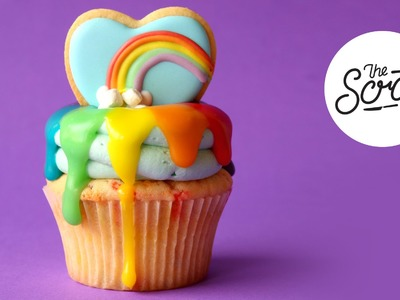 RAINBOW PRIDE CUPCAKES - The Scran Line