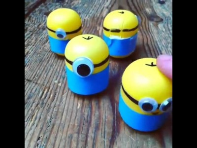 Watch our DIY Minion Weebles wobble