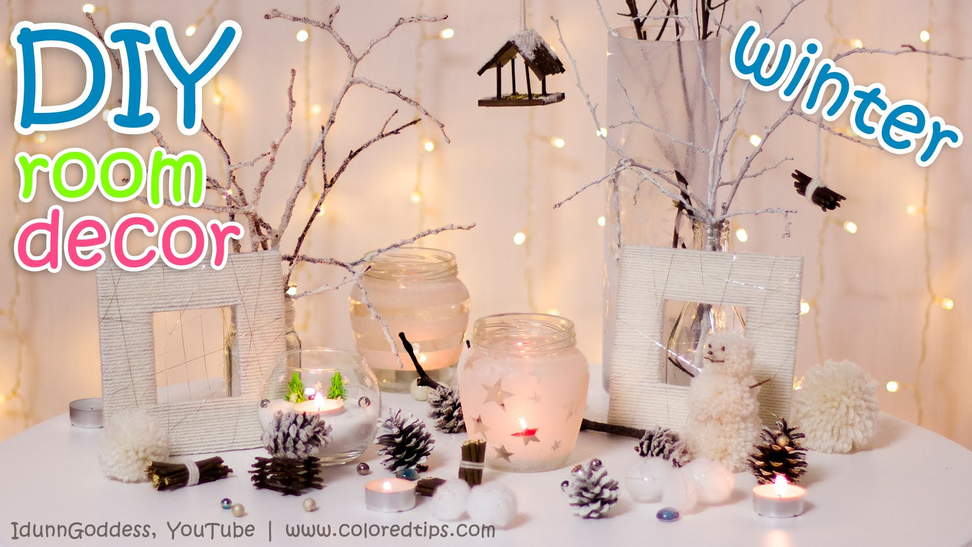 10 DIY Winter Room Decor Ideas