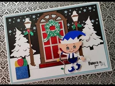 2015 #1 Cricut Explore Christmas Card