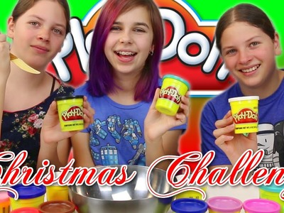 CHRISTMAS PLAY-DOH CHALLENGE | FUN with my FRIENDS