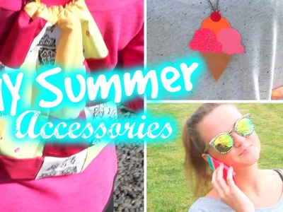 DIY Accessories For Summer! + BIG ANNOUNCEMENT
