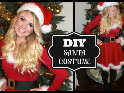 DIY Cute Santa Costume! Style By Dani