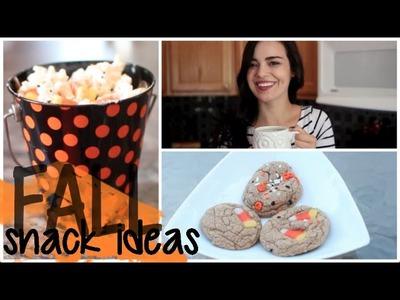 DIY Easy Fall Snacks | MakeupByKimm