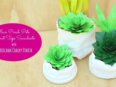 DIY Faux Succulents