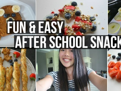 DIY Fun And Easy After School Snacks