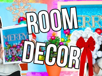 DIY Holiday Room Decor! Cute & Easy!