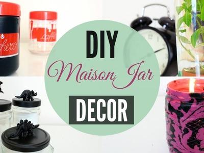 DIY Jars Decorating ideas | Black Jo White