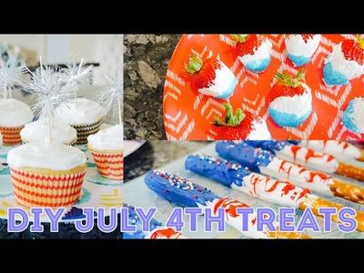 DIY July 4th Treats! | Charmaine Dulak