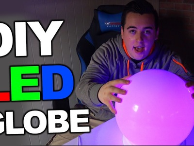 DIY RGB LED Globe for Cheap!