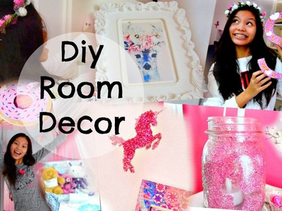DIY Simple Ways to Decorate and Spice up your Room! +DIY Room Decor ♡