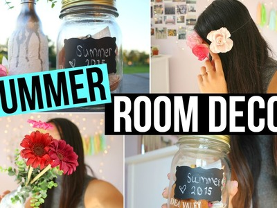 DIY Summer Room Decor + Flower Crown