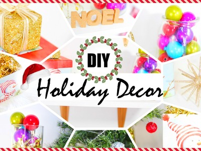 Easy Holiday Decor | DIY Tips & Ideas