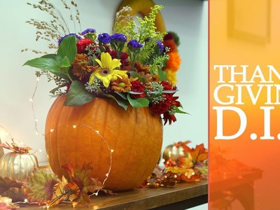 Fall.Thanksgiving Decor ♥ DIY