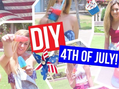 Fourth of July Inspiration!. DIY Treats & Outfit Ideas!