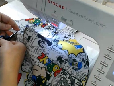 Hybrid Fitted Diaper Sewing Tutorial