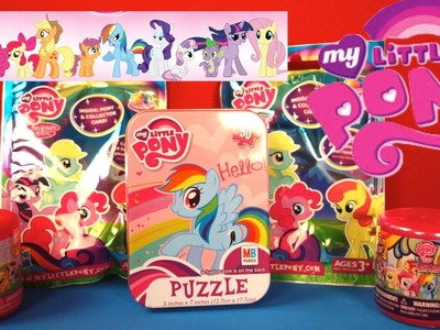 My Little Pony Fashems, MLP Blind Bags and a Rainbow Dash puzzle!