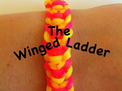 NEW Winged Ladder rainbow loom bracelet