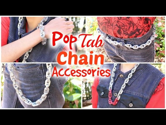 Pop Tab Chain Accessories DIY