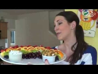 Rainbow Fruit Platter for St. Patrick's Day! - Crafty Mom's Weekly Challenge - Episode 33
