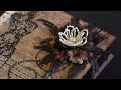 Wild Orchid Crafts - Sewing book box