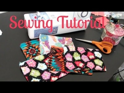 Zipper Pouch Sewing Tutorial