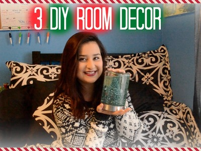 3 Easy Xmas DIY Room Decor
