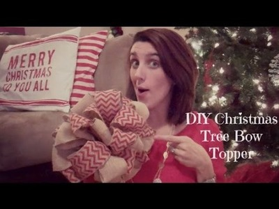 Crafty Christmas Collab - Christmas Tree Bow Topper