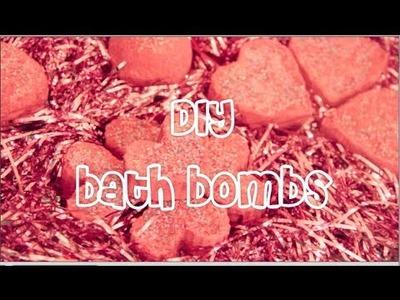 ♡♡♡DIY BATH BOMBS♡♡♡