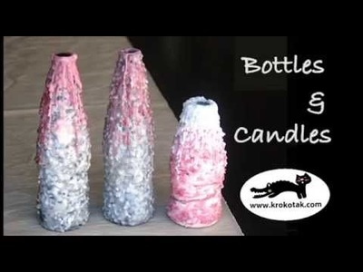 DIY candle&bottles