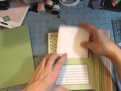 Diy Christmas #4 - Card organizer book