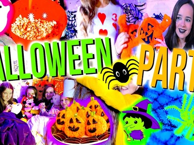 DIY Halloween Party: Costumes, Snacks & Things To Do!!