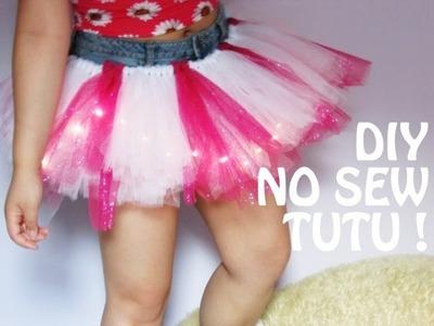 DIY No Sew Tutu!
