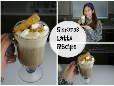 DIY S'mores Latte