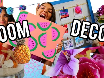 DIY Summer Room Decor: Tumblr Inspired! | NataliesOutlet
