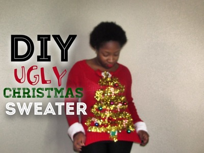 DIY Ugly Christmas Sweater 2014