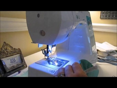 *DIY Vlog* Sewing A FOE Diaper Cover Part 2- Adding Leg Gussets
