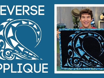 Easy Reverse Applique: Quilt Tutorial with Rob Appell of Man Sewing