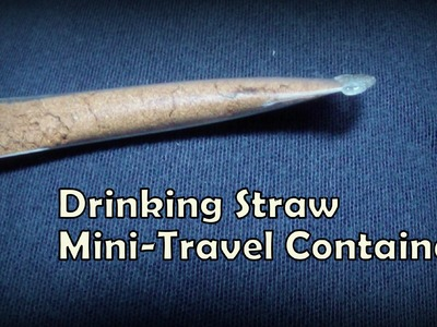 Genius DIY Mini-Travel Container