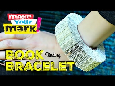 How to: Book Bracelet DIY