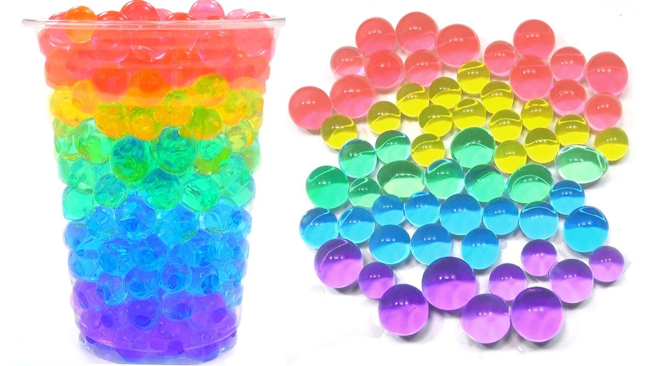 Learn Colors with ORBEEZ, Rainbow Orbeez Party! Lesson 1 dots & eggs