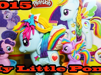 My Little Pony Rainbow Dash Style Salon With Princess Twilight Sparkle Play Doh 2015