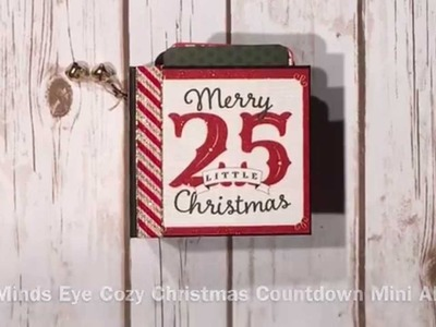 My Minds Eye Cozy Christmas Countdown Mini Album