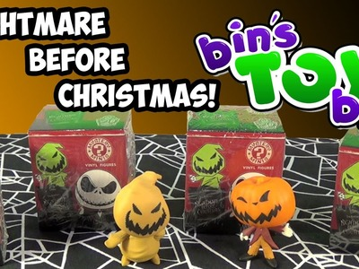 Nightmare Before Christmas Funko Mystery Minis! Blind Box Opening by Bin's Toy Bin